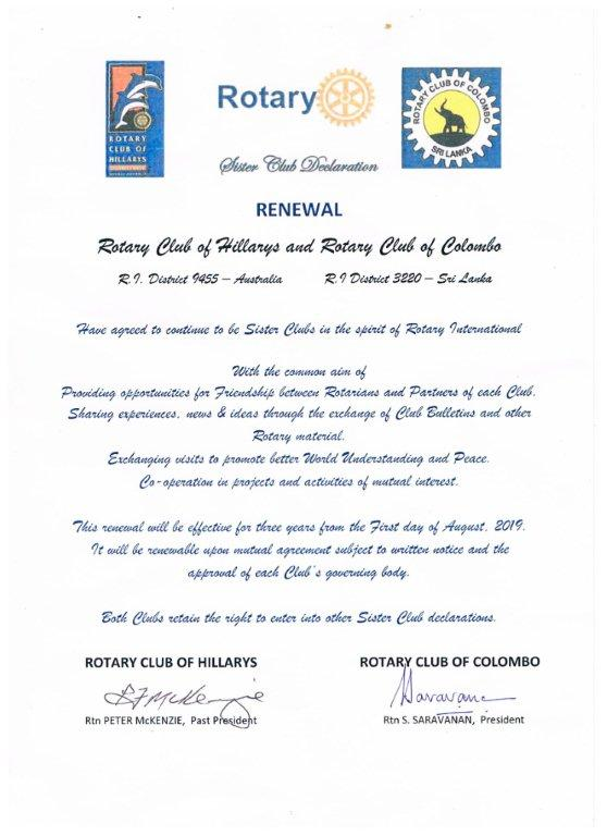 Rotary Club of Colombo