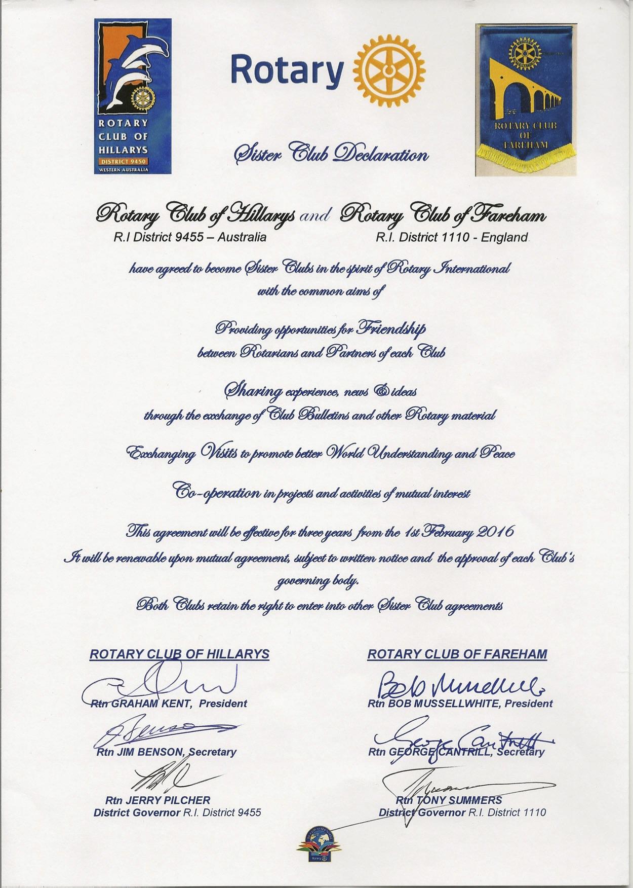 Rotary Club of Fareham